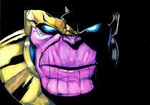 Thanos by Luiz Rosa