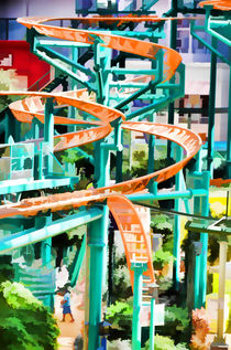 Mall Of America Roller Coasters von lanjee chee