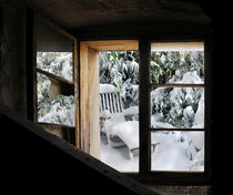 Winter-Gartenfenster by Nikola Hahn