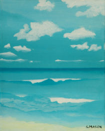 Gone to the beach by simon mason