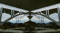 Bridge over dam von Claudio Boczon