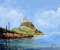 Lindisfarne Castle Northumberland by terrydonnelly