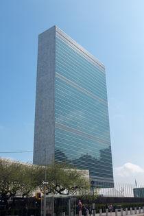 UN building New York by kytefoto