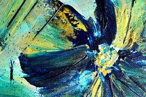 Abstrakt Flower by Maria Killinger