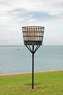 Beacon on Yarmouth Common von Rod Johnson