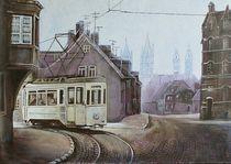 Naumburg - Historische Straßenbahn von Doris Seifert