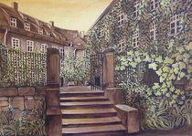Naumburg - Hinter dem Dom von Doris Seifert