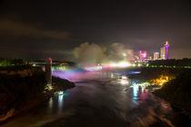 Colorfull Niagara Falls by Marc Rink