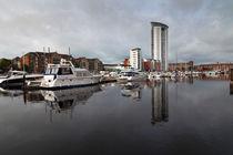 Swansea marina von Leighton Collins