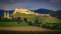 Spis Castle by Zoltan Duray
