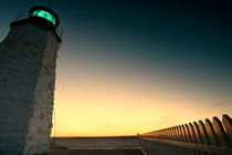 Newport light tower by Alexander Trattler
