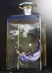 Bottled Mermaid by Sven K.
