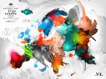 Mikael Brandrup - MB-AMS-EU1 von Fine Art Nielsen