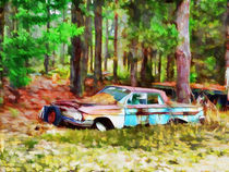 Abandoned Classic Car by lanjee chee