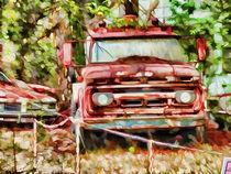 Old tow truck  von lanjee chee
