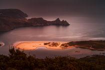 Moody Three Cliffs Bay von Leighton Collins