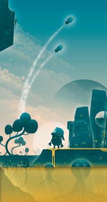 Moonage Daydream von Bradley Sharp
