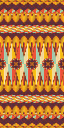 Colorful ethnic pattern von Gaspar Avila