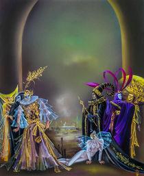 Il Carnevale die Venezia von Annelie Dachsel-Widmann