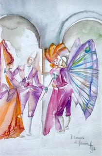 Carnevale di Venezia von Annelie Dachsel-Widmann