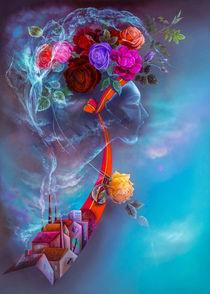 Noch blühen sie, die Rosen ... von Annelie Dachsel-Widmann