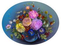 Ein kleiner Blumengruss von Annelie Dachsel-Widmann