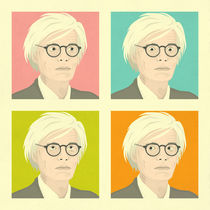 Andy Warhol by Jazzberry  Blue