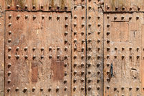 Old Door Texture Closeup by Radu Bercan