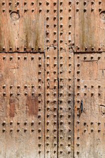 Old Door Texture Closeup von Radu Bercan
