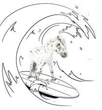 "Pony-Power ""Surfin"" by cavallo-magazin"