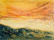 Bewegter Sonnenuntergang - Tramonto movimentato von Victoria  Fortunato-Liebetrau
