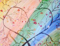 Regenbogen Herz - Cuore arcobaleno von Victoria  Fortunato-Liebetrau