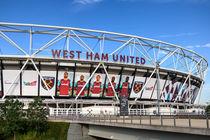 West Ham FC Stadium London von David Pyatt