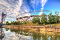 West Ham FC Stadium And The Arcelormittal Orbit  von David Pyatt
