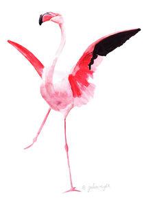 Flamingo 1 von Julia Reyelt