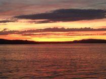 Sonnenuntergang - Tramonto II von Victoria  Fortunato-Liebetrau