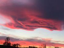Unglaubliche Wolken - Incredible clouds II von Victoria  Fortunato-Liebetrau