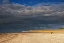 Beachwalk on the Maasvlaktestrand by John Stuij