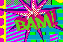 Bam Pop Art Explosion by Christian Lopez