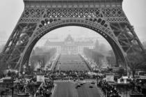 Grey morning in Paris by Yuliya Vassilyeva