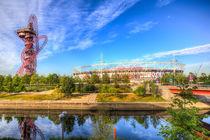 West Ham Olympic Stadium And The Arcelormittal Orbit  von David Pyatt