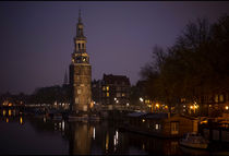 Clock Tower Amsterdam von Michael Robbins