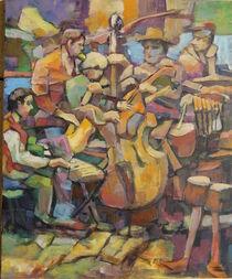Jazz by alfons niex