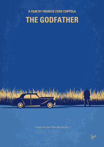 No686-1 My Godfather I minimal movie poster by chungkong