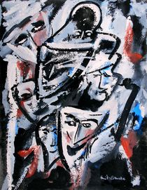 Tanz der Masken by Eberhard Schmidt-Dranske