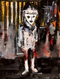 Figur mit Maske von Eberhard Schmidt-Dranske