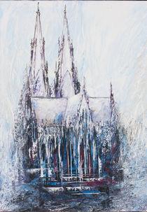 Kölner Dom Wintermärchen von Renate Berghaus