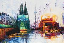 Köln Dom Stadtansicht by Renate Berghaus