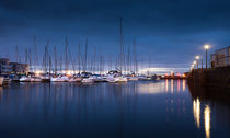 Swansea Marina Morning by Leighton Collins