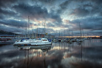 Swansea Marina Reflections by Leighton Collins